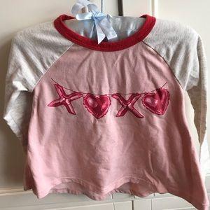 Tucker + Tate XOXO Valentine's Top